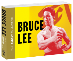 """Bruce Lee Legacy Collection"" Blu-ray & DVD Booklet Packaging"