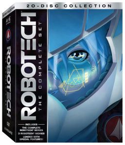 """""""Robotech: The Complete Set"""" DVD Cover"""