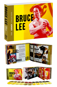 """Bruce Lee: The Legacy Collection"" Packaging"