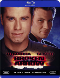 """Broken Arrow"" Blu-ray Cover"