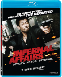 """Infernal Affairs"" Blu-ray Cover"