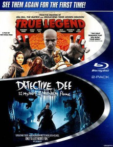 """Detective Dee & True Legend"" 2 Pack Blu-ray Cover"