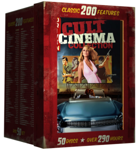 Drive-In Cult Classics 200 Film Collection | DVD (Mill Creek Entertainment)