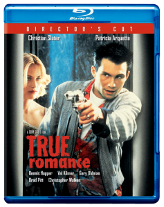"""True Romance: Director's Cut"" Blu-ray Cover"