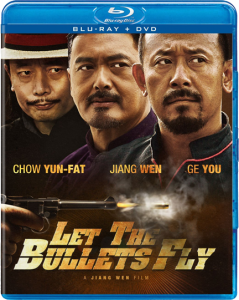 """""""Let the Bullets Fly"""" Blu-ray Cover"""