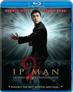 """Ip Man 2"" Blu-ray Cover"