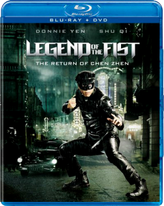 """Legend of the Fist: The Return of Chen Zhen"" Blu-ray Cover"