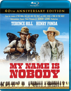 """My Name Is Nobody: 40th Anniversary Edition"" Blu-ray Cover"