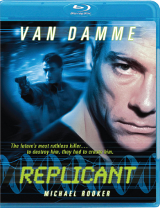 """Replicant"" Blu-ray Cover"