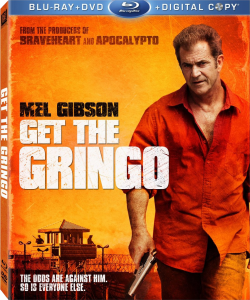 """Get the Gringo"" Blu-ray Cover"