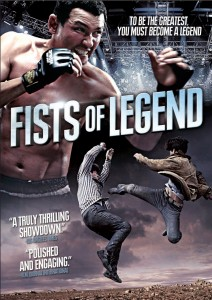 """Fists of Legend"" DVD Cover"