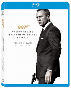 """007: Daniel Craig Collection"" Blu-ray Cover"