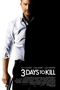 """Three Days to Kill"" Teaser Poster"