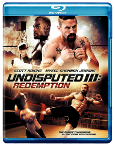 """Undisputed III: Redemption"" Blu-ray Cover"