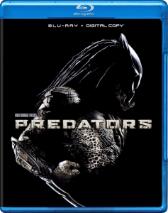 """Predators"" Blu-ray Cover"