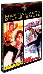Double Feature: Lady Whirlwind & Hapkido | DVD (Shout! Factory)