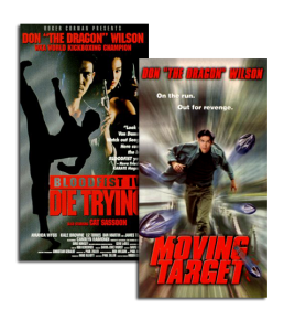 "Oddly enough, a 3rd remake of ""Die Trying/Moving Target"" is in the works called ""Fist of the Dragon,"" which stars Josh ""The Punk"" Thomson."