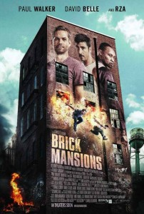 """Brick Mansions"" Theatrical Poster"