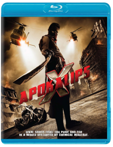 """Apokalips X"" Blu-ray Cover"