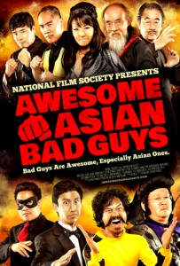 """Awesome Asian Bad Guys"" Theatrical Poster"