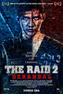 """The Raid 2: Berandal"" Theatrical Poster"