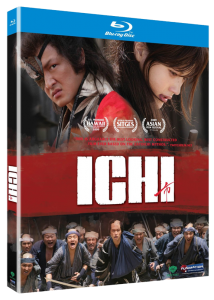 """Ichi"" Blu-ray Cover"