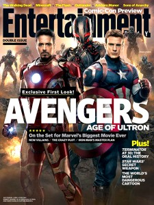 "Entertainment Weekley's ""The Avengers: Age of Ultron"" Cover"