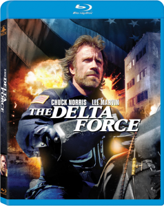 """The Delta Force"" Blu-ray Cover"