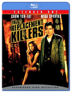 """The Replacement Killers"" Blu-ray Cover"