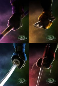 """Teenage Mutant Ninja Turtles"" Teaser Posters"