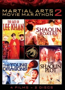Martial Arts Movie Marathon Vol. 2 | DVD (Shout! Factory)