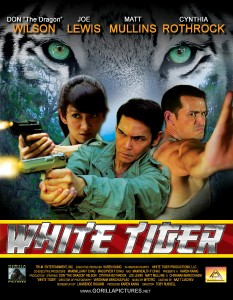 """White Tiger"" International Theatrical Poster"