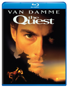 """The Quest"" Blu-ray Cover"