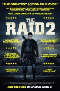 """The Raid 2"" International Theatrical Poster"
