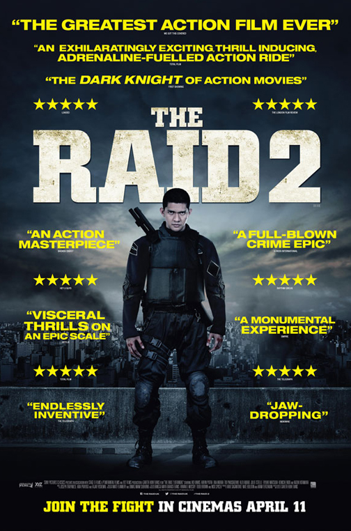 Watch Online The Raid 2 2014 Full Movie Hindi Dubbed Free Download