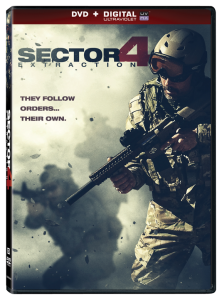 """Sector 4: Extraction"" DVD Cover"