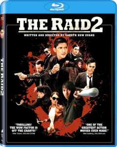 The Raid 2: Berandal | Blu-ray & DVD (Sony Pictures)