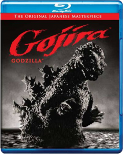 """Gojira"" Blu-ray Cover"