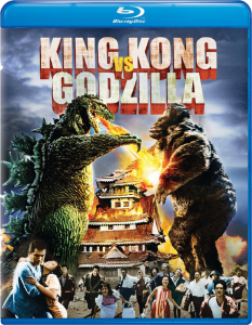 """King Kong vs. Godzilla"" Blu-ray Cover"