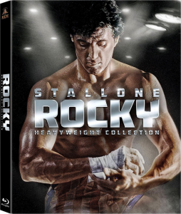 """Rocky: Heavyweight Collection"" Blu-ray Cover"