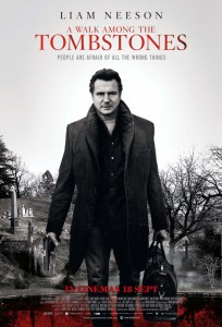 """A Walk Among the Tombstones"" Theatrical Poster"