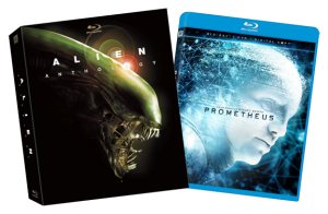 """Alien Anthology + Prometheus"" Blu-ray Covers"