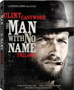 """The Man with No Name Trilogy"" Blu-ray Cover"