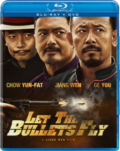 """Let the Bullets Fly"" Blu-ray Cover"