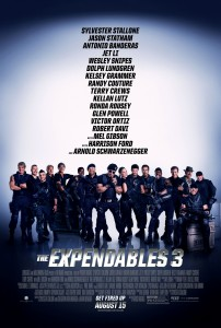"""The Expendables 3"" Theatrical Poster"