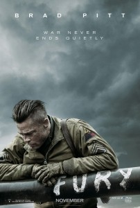 """Fury"" Theatrical Poster"