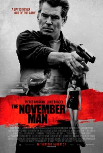 """The November Man"" Theatrical Poster"