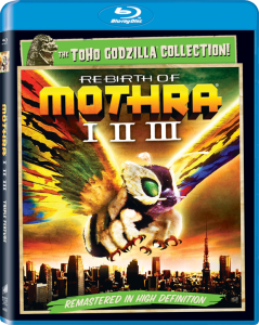 Triple Feature: Rebirth of Mothra I-III | Blu-ray (Sony)