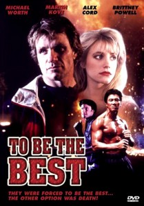 """To Be The Best"" DVD Cover"