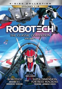 Robotech: The Classic Collection Vol. 1 | DVD (Lionsgate)